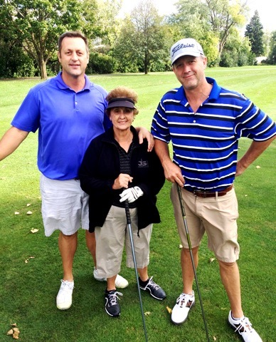 Dan Goaley, Shirley Goaley and Darren Goaley. Shirley Goaley is the Founder of ALS of the Heartland
