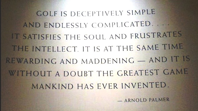 Arnold Palmer quote