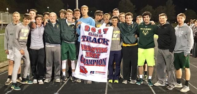 2017 Falcon Track District Champions