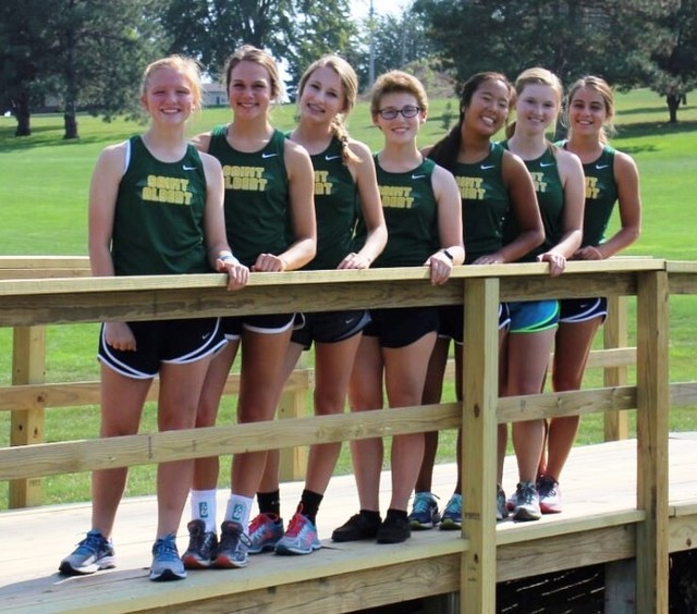 2017 Saintes Cross Country Team 2